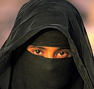 Niqab, full-face veil